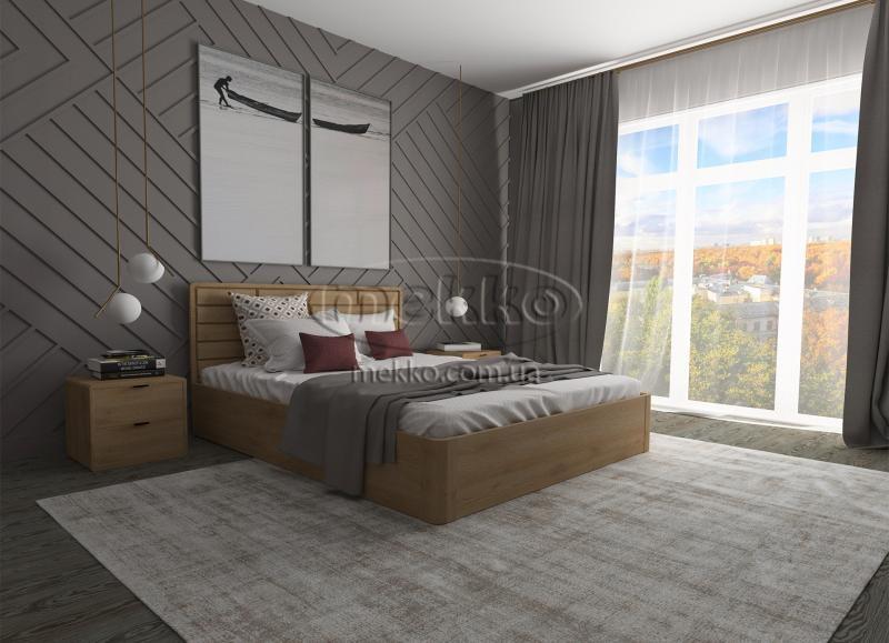 Ліжко Лауро з Підйомником (масив бука /масив дуба) T.Q.Project  Конотоп