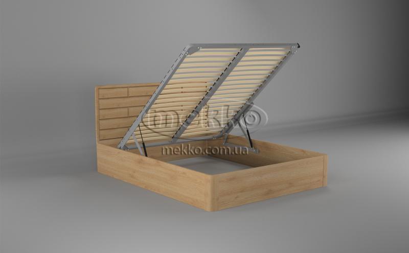 Ліжко Лауро з Підйомником (масив бука /масив дуба) T.Q.Project  Конотоп-2