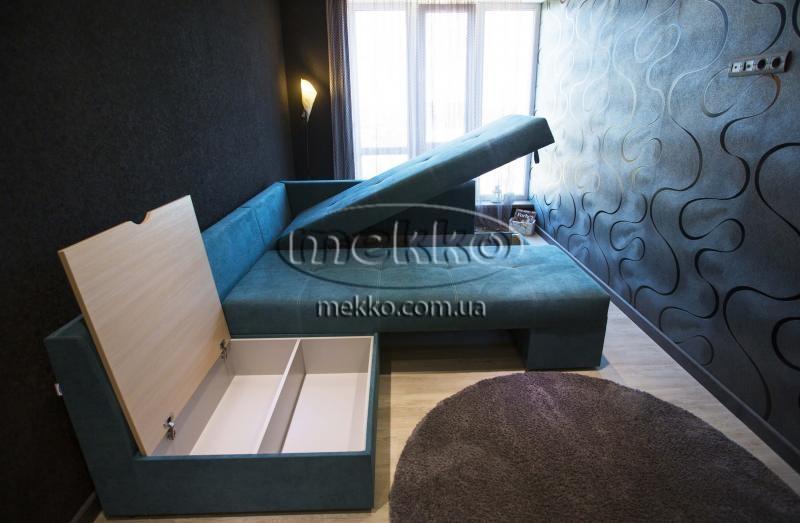 Кутовий диван з поворотним механізмом (Mercury) Меркурій ф-ка Мекко (Ортопедичний) - 3000*2150мм  Конотоп-3