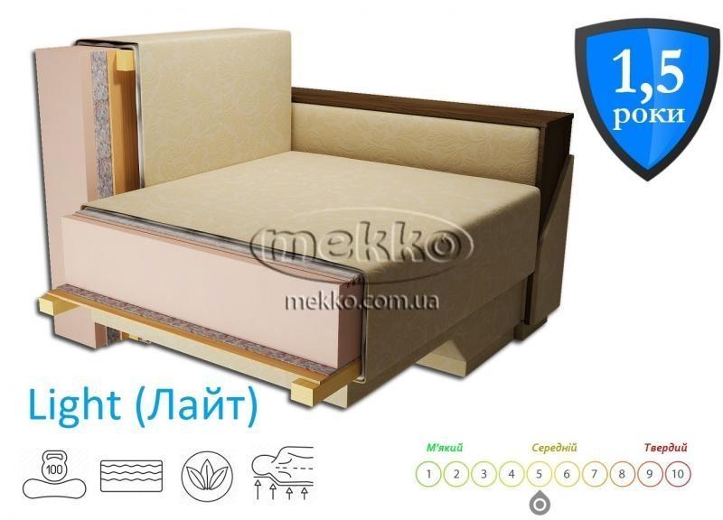 Кутовий диван з поворотним механізмом (Mercury) Меркурій ф-ка Мекко (Ортопедичний) - 3000*2150мм  Конотоп-2