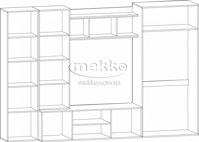 """Стінка """"Конго"""" Мебель-Сервіс  Конотоп-4"""